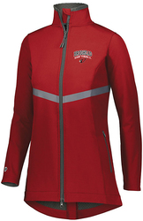 Ladies 3D Regulate Soft Shell Jacket with Design