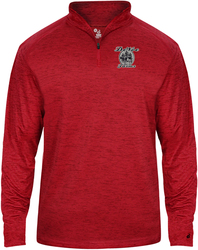 Tonal Blend 1/4-Zip Pullover with Design
