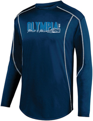 edge performance pullover with design