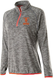 Ladies Force Training 1/4 zip with design
