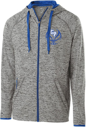 force full zip lightweight jacket with design