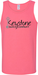 100% Cotton Tank Top with Design