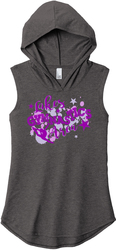 Ladies Perfect Tri Sleeveless Hoodie Front