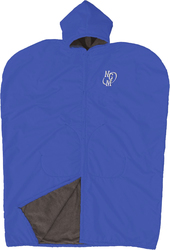 Image showing Fisher Athletics fleece lined cape with an NGM logo.