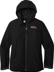 Ladies Tech Rain Jacket Front