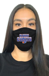 Face mask with school logo
