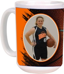 White Sublimated Ceramic Mug with Design