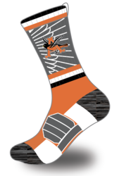 sublimated crew sock