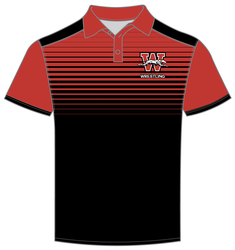 sublimated game day polo