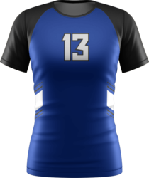 Short Sleeve Volleyball Jersey with Design