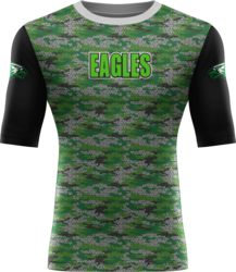 Sublimated Prolook 1/2 Sleeve Compression Top