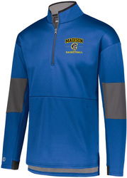 Sof-Stretch 1/4-Zip Pullover with Design