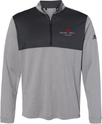 Lightweight 1/4-Zip Pullover with Design