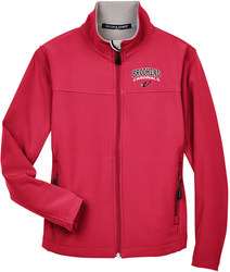 Ladies Soft Shell Jacket with Design