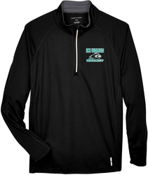 Radar 1/4-Zip Pullover with Design