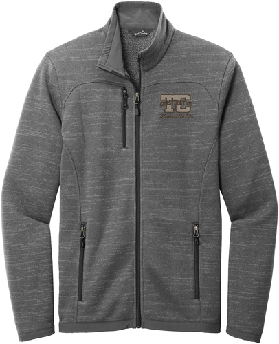 Sweater Fleece Full-Zip Jacket with Design