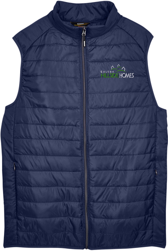 Prevail Packable Puffy Vest with Design