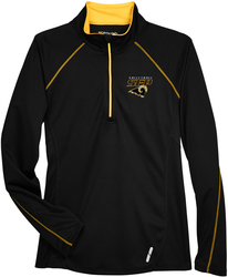Ladies Radar 1/4-Zip Pullover with Design