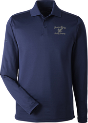 Corporate Long Sleeve Performance Sport Shirt with Design