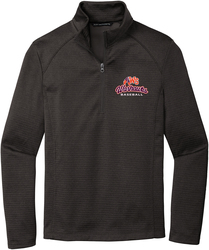 Diamond Heather Fleece 1/4-Zip Pullover with Design