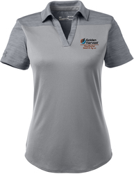 Ladies Corporate Colorblock Sport Shirt with Design
