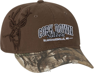 3D Buck Cap with Design