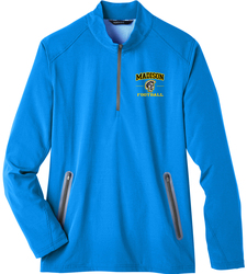 Quest Stretch 1/4-Zip Pullover with Design
