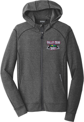 Cadmium Full-Zip Hooded Sweatshirt with Design