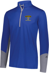 Hybrid 1/4-Zip Pullover with Design