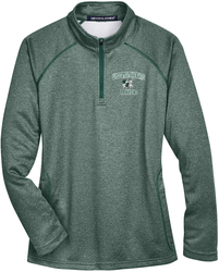 Ladies Compass 1/4-Zip Pullover with Design
