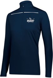 Ladies Defer 1/4-Zip Pullover with Design