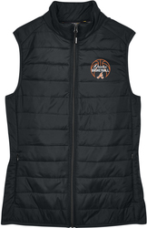 Ladies' Prevail Packable Puffy Vest with Design