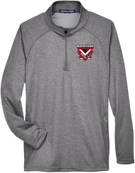 Compass 1/4-Zip Pullover with Design