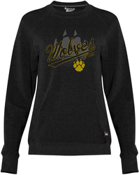 Women's Fit Flex Crew Sweatshirt with Design