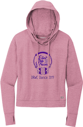 Ladies Force Hooded Sweatshirt with Design