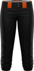 Prolook Game Twill Mid-Calf Softball Pants