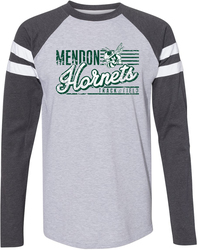 LAT Gameday Mash-Up Long Sleeve Jersey T-Shirt with Design