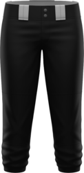 Prolook Basic Twill Mid-Calf Softball Pants