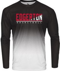 Hex Long Sleeve Performance T-Shirt with Design