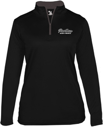 Badger Ladies B-Core Performance 1/4-Zip Pullover with Design