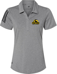 Adidas Ladies Floating 3-Stripes Sport Shirt with Design