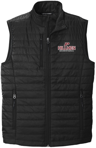 Packable Puffy Vest with Design