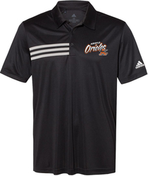 Adidas 3-Stripes Chest Sport Shirt with Design