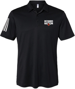 Adidas Floating 3-Stripes Sport Shirt with Design