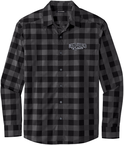 Port Authority Everyday Plaid Shirt with Design