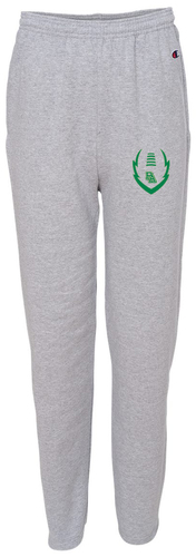 Double Dry Open Bottom Sweatpants with Pockets with Design