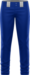Prolook Basic Twill Full Length Open Bottom Softball Pants