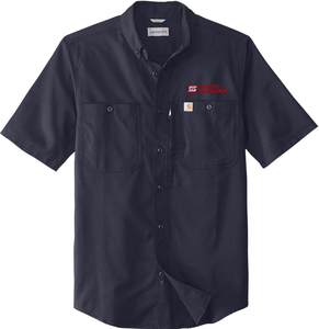 Carhartt Rugged Professional Series Industrial Work Shirt with Design
