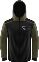 Sublimated Prolook SFN Full Zip Long Sleeve Hoodie