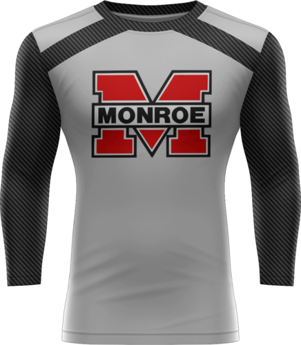 Sublimated Prolook 3/4 Sleeve Compression Top